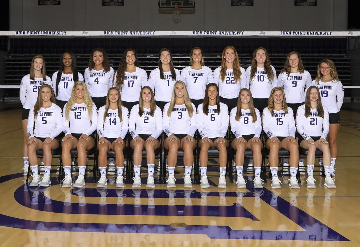 2018 Volleyball Roster High Point University Athletics